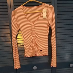 Hollister NWT Striped Long Sleeve Top